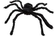 Dealglad® New 75cm Large Black Realistic Fake Spider Plush Puppet Prank Jokes Toy Halloween Party Decorations Props