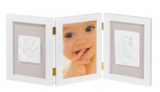 My Sweet Memories 34122003-3-piece frame for photo and 2 Baby Footprints, white