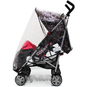 Cosatto Supa Stroller Raincover Professional Heavy Duty Rain Cover