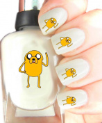 Easy to use, High Quality Nail Art Decal Stickers For Every Occasion! Ideal Christmas Present / Gift - Great Stocking Filler Jake The Dog, Adventure Time