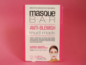 MASQUE BAR By Look Beauty Anti-Blemish Mud Mask, 3 x Sachets