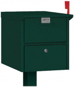 Salsbury Industries 4325GRN Roadside Mailbox, Green
