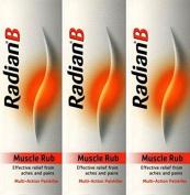 Radian B Muscle Rub 100g x 3 Packs