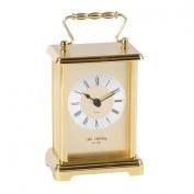 Wm Widdop Rectangular 2 Tone Gold Carriage Clock