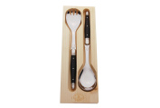 Laguiole Salad Server, Black