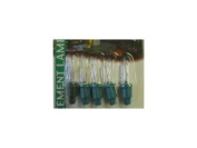 Noma 0344C Push In Bulbs Clear 6V