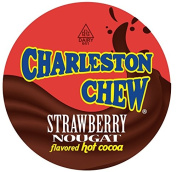 Charleston Chew Strawberry Hot Cocoa for Keurig K-Cup Brewers, 40 Count
