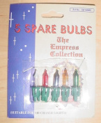 Pack of 5 Multi Push In Spare Bulbs- 7V 0.7W 140 Chaser Lights
