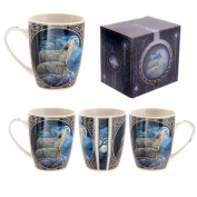 Lisa Parker New Design Howling Wolf Mug Gifts, and, Cards Teacher, School, Gifts Occasion, Gift, Idea