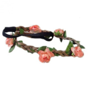 Sanwood Flower Women Hairband Headband Festival Party Wedding