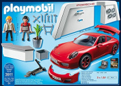 "Playmobil ""Porche 911 Carrera S"" Car with Lights and Showroom"