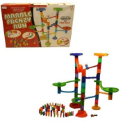 A to Z 88pc Marble Run and domino Set