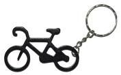 Black Bike Keyring / Bottle Opener