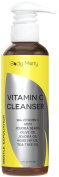 Vitamin C Exfoliating Cleanser - Best Anti-Ageing Face Wash - Helps with Wrinkles, Fine Lines, Acne, Unclogging Pores, Sun & Age Spots While Providing A Gentle Clean - Natural & Organic - 180ml
