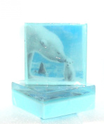 Polar Bear Soap Momma and Baby Bear,The Salt Baron Pretty as a Picture Soap