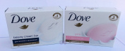 Dove Beauty Cream Bar Soaps Combo. (2 Pack).. 080585090197. bath shower home dove grease soap palmolive bar household ivory.