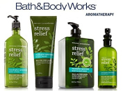 Bath & Body Works Aromatherapy Gift Set Eucalyptus Spearmint Body Lotion ~ Body Cream ~ Pillow Mist and Big 740ml Limited Edition Body & Hand Wash