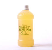 Sweet Almond Organic Carrier Oil 100% Pure - 1 Litre