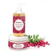 Sea Enzyme Cranberry Vanilla Hand & Body Set