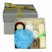 BabyBeeLoved Organic Bath, Body And Beauty Aromatherpy Home Spa Product Gift Box Set