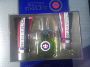 British Sterling By Dana Gift Set Cologne 70ml, After Shave Balm 60ml, Body Wash 70ml