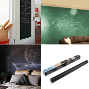 5X Self-adhesive Blackboard Wall Sticker total size 200 x 45cm plus 25 chalks Saving Money Package