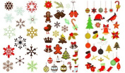 325 Christmas and Holiday Temporary Flash Tattoos