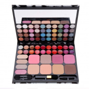 ACEVIVI Professional 72 Silky Shine Colours Eyeshadow Makeup Cosmetic Palette Combination with Lip Gloss and Blush