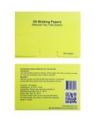Bella Care Oil Blotting Paper, Natural Tea Tree Scent