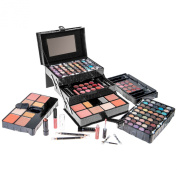 SHANY All In One Makeup Kit (Eyeshadow, Blushes, Powder, Lipstick & More) Holiday Exclusive - BLACK