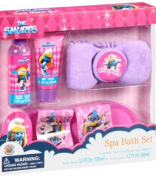 The Smurfs Spa Bath Set Includes spa Slippers!! Mixed Berry Scented