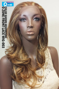 APLUS Ozone Lace Front Wig 003 - Colour#4 - Dark Brown