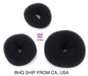 Women Hair Bun Ring Donut Shaper 3 Size in Package