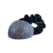 Twinkle® Hair Accessories - Crystal Scrunchies - Curve X1