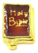 "Best Wing Jewellery ""Holy Bible"" Floating Charm for Glass Lockets"