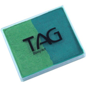 TAG 2 Colour Split Cake - Pearl Green and Pearl Lime