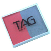 TAG 2 Colour Split Cake - Soft Grey and Rose Pink