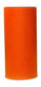 Ribbon Bazaar Gala Sparkle Tulle 15cm Orange 25 yards Ribbon