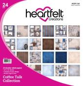 Heartfelt Creations Coffee Talk - Coffee Talk Paper Collection