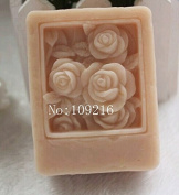 Creativemoldstore 1pcs Square Mould (Zx1595) Craft Art Silicone Soap Mould Craft Moulds DIY Handmade Soap Mould