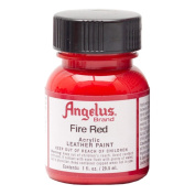 Angelus Leather Paint 30ml Fire Red