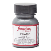 Angelus Leather Paint 30ml Pewter