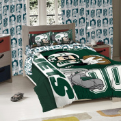 NEW YORK JETS NFL AND DISNEYS MICKEY MOUSE FULL SIZED COMFORTER WITH SHAMS