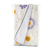 Sweet Potato Fiona Quilt floral, Purple/White/Yellow