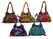 10 Cotton Canvas Ethnic Handcrafted Tote Hippie Shoulder Bag Wholesale Lot
