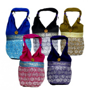 10 Handcrafted Belly Dance Sitara Work Wholesale Lot Bags Purse