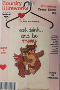 Eat, Drink and Be Merry - Christmas Cross-Stitch Kit 071107