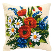 Spring Has Sprung Cushion Front - Cross Stitch Kit