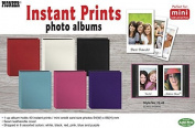 Pioneer Photo Albums Instant-Print Photo Album with Leatherette Covers - 40 Pockets - Assorted Colours
