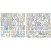 Happy Place Alpha & Numbers Die-Cuts-